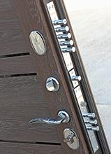 Дверь Чикаго МДФ Венге/МДФ Дуб шале корица (960*2050*105*1,5 мм) левая купить по низкой цене в интернет-магазине okno19.ru