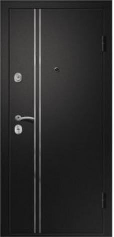 Дверь Медея-321 (М1)«109Z» Черный сатин/Венге Эко черное стекло (880*2050*95*1,4 мм) левая купить по низкой цене в интернет-магазине okno19.ru