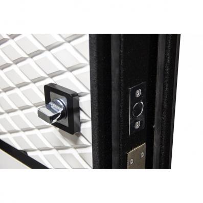 Дверь Орфей-511 МДФ Графит/МДФ Софт айс (880*2050*105*1,4 мм) левая купить по низкой цене в интернет-магазине okno19.ru