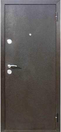 Дверь Йошкар Металл/МДФ Золотистый дуб (860*2050*70*1 мм) правая /минплита/ купить по низкой цене в интернет-магазине okno19.ru