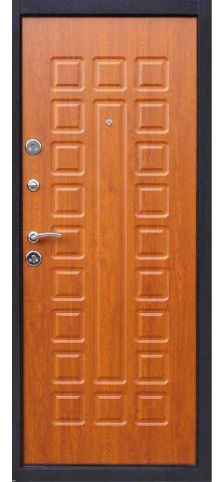 Дверь Йошкар Металл/МДФ Золотистый дуб (960*2050*70*1 мм) левая /минплита/ купить по низкой цене в интернет-магазине okno19.ru
