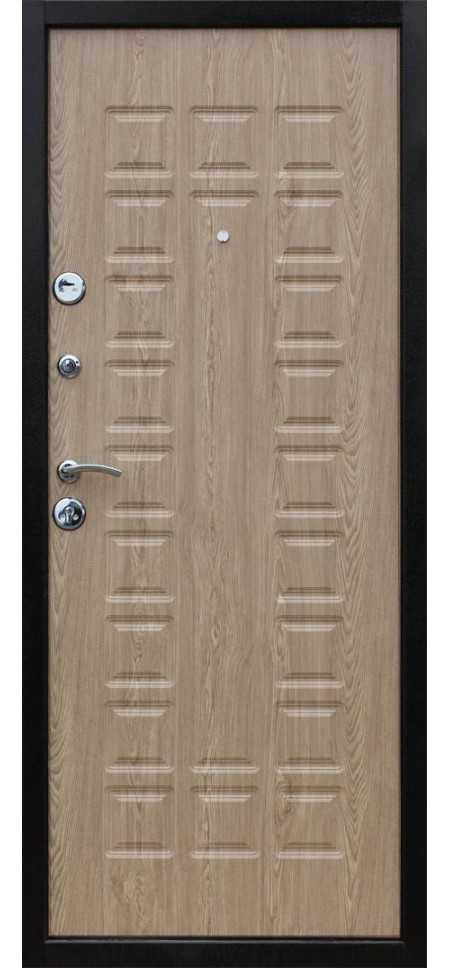 Дверь Йошкар Металл/МДФ Карпатская ель (860*2050*70*1 мм) правая /минплита/ купить по низкой цене в интернет-магазине okno19.ru