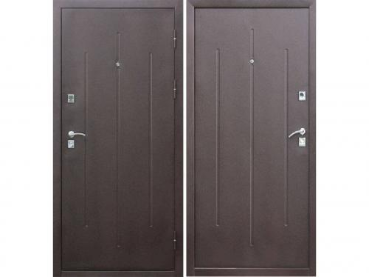 Дверь Строй-Гост 7-2 Металл/Металл (860*2050*70*1,2 мм) левая /минплита/ купить по низкой цене в интернет-магазине okno19.ru