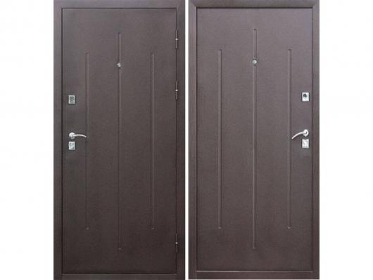 Дверь Строй-Гост 7-2 Металл/Металл (960*2050*70*1,2 мм) правая /минплита/ купить по низкой цене в интернет-магазине okno19.ru