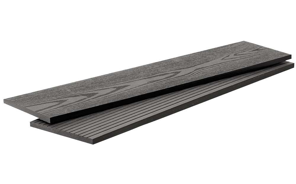 Доска универсальная 2-х сторонняя DW 3000*140*10 мм. цвет Черный купить по низкой цене в интернет-магазине okno19.ru