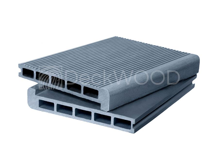 Ступени ДПК DW 3000*165*23 мм. Мелкий вельвет цвет Серый купить по низкой цене в интернет-магазине okno19.ru