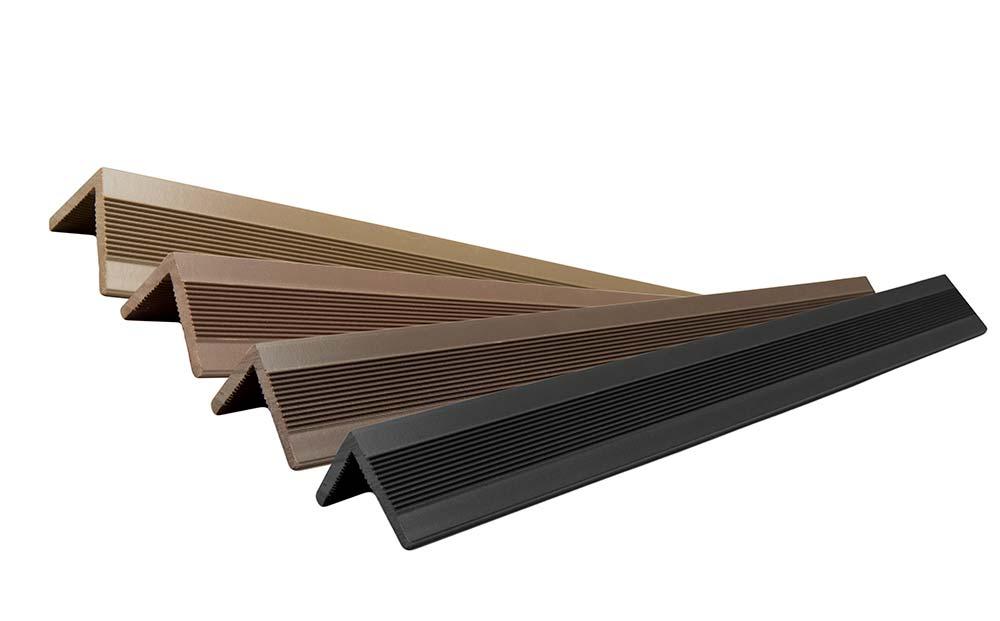 Угловой профиль для террасной доски DW 3000*40*40 мм. цвет Коричневый купить по низкой цене в интернет-магазине okno19.ru