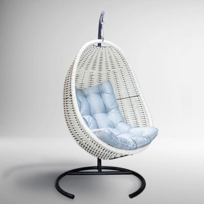 Плетеное подвесное кресло-кокон DeckWOOD Красное