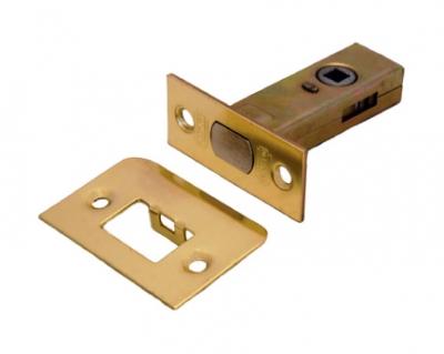 Задвижка дверная межкомнатная L 7-45 B золото