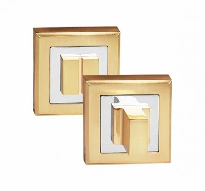 Завертка сантехническая на квадрате OLS SB золото матовое