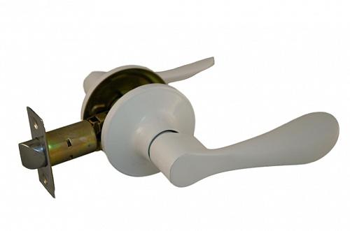 Ручка рычажная ARSENAL 891 BL-BK фиксатор белый купить по низкой цене в интернет-магазине okno19.ru