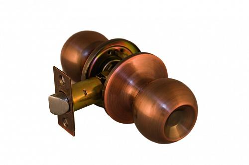 Ручка шар ARSENAL 607 AC-PS фиксатор цвет античная медь купить по низкой цене в интернет-магазине okno19.ru